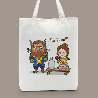 Afternoon Tea Shoulder Handbags for Beauty and the Beast