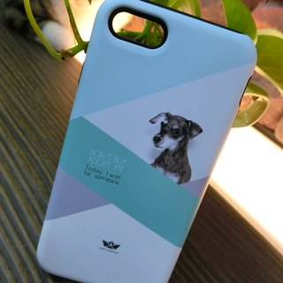 "3D Protective Bumper Case climax ""My Dog # 3"" / gentle touch han scratch Phone Case [Customizable aircraft models: iPhone Full Model / Series NOTE.S Samsung / LG]"