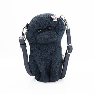 Adamo 3D Bag Original Ribbon Poodle Sling Bag