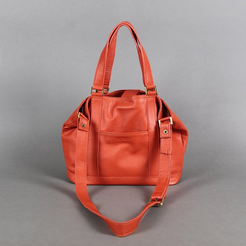 Passion small handbag Orange mobile / shoulder / oblique back