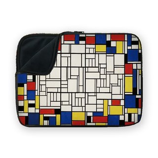 Mondrian style shock-absorbing waterproof laptop bag BQ-MSUN3
