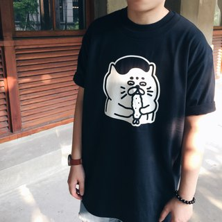 Fried Shrimp Goro - Black Summer Short Sleeve