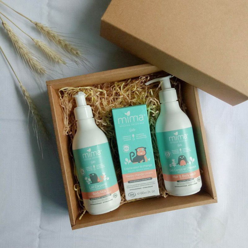 MiMa Spain Organic Baby Care Gift Box Full Moon Gift Best Choice