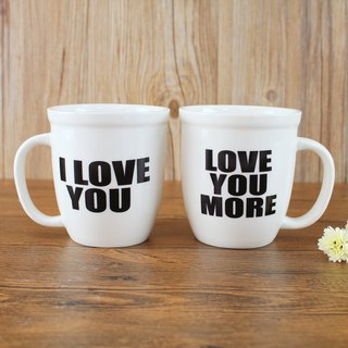 馬克杯套組15oz-Love you | MUGS050