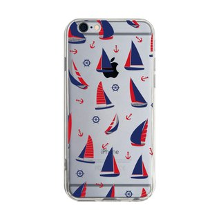 Small Sailing - iPhone X 8 7 6s Plus 5s Samsung S7 S8 S9 Mobile Shell Phone Case