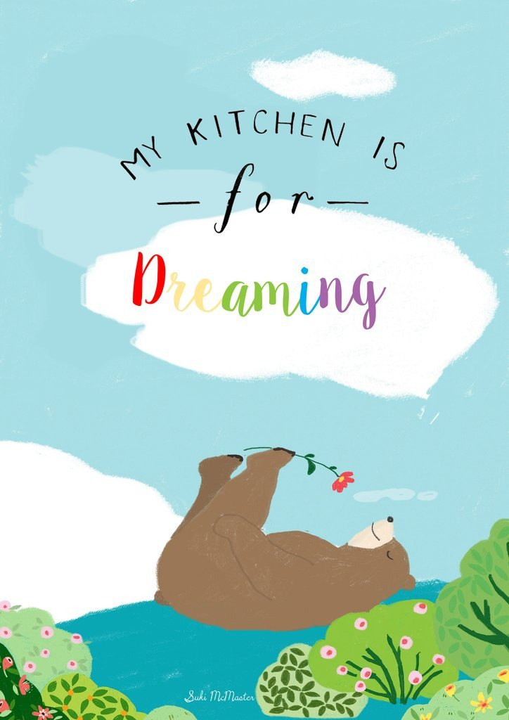 Wall Print - My Kitchen Is For Dreaming