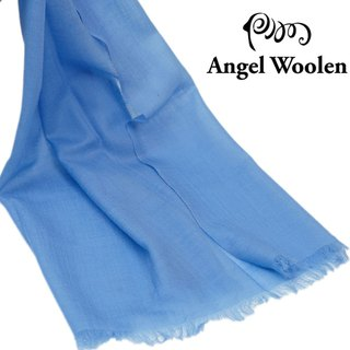 【Fashion Cute】 soft lamb wool shawl scarf (sea blue)