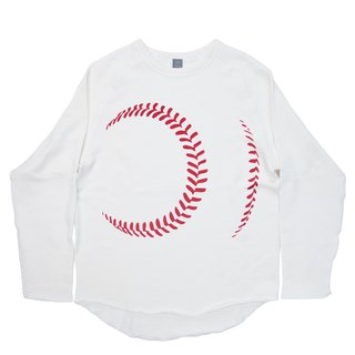 To baseball lovers. To present. Unisex M ~ XL size baseball ball sweat Tcollector