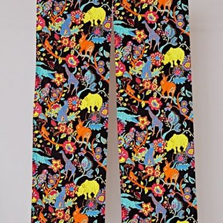 Pre-order full version of animal and flower curtain (two colors) ISAP7619