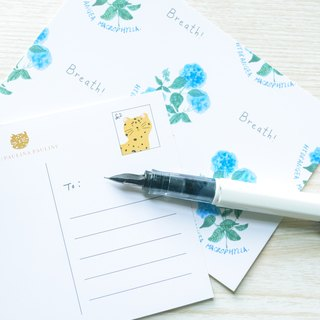 Garden Collection-Hydrangea postcard / buy 3 get 1