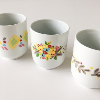 Floral Cup (Customizable)