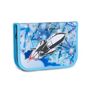 Tiger Family Aristocratic Multifunctional Creative Stationery Bag - Dream Rocket