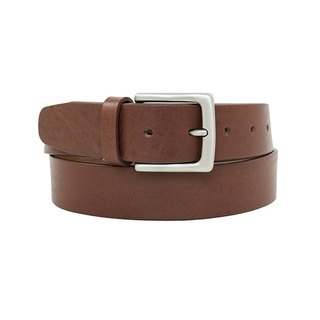 LAPELI │ Italian vegetable tanned leather male gentleman's belt light coffee