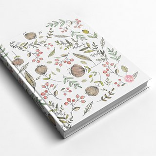 Rococo Strawberry WELKIN Handmade _ handmade book / notebook / PDA / - late summer and early autumn