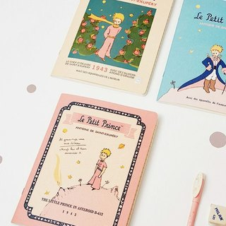 7321Design- Little Prince striped notebook L-B612 planet, 7321-87332