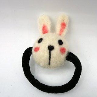 Wool animal hair ring