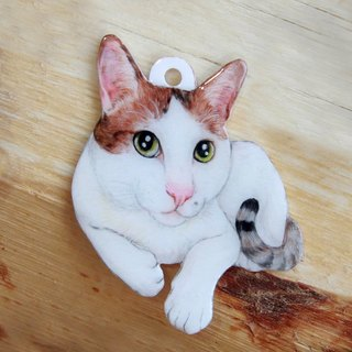 Custom hand-painted pet pendant body*single*Please confirm the time before payment