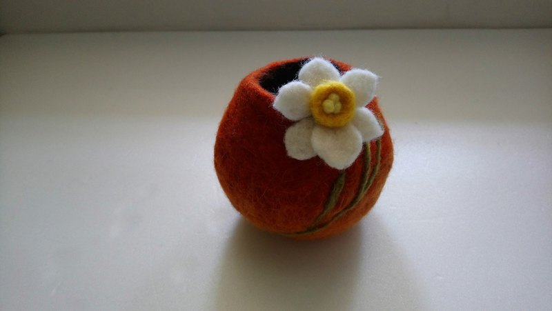 Spring-Daffodil / Small Flower Pot / Filling Device [Birthday Gift / Life Small Object]