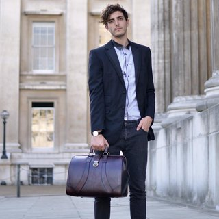 JACK Vintage Leather Doctor Bag