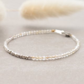 Spectral stone sterling silver bracelet 1141 - if at the time