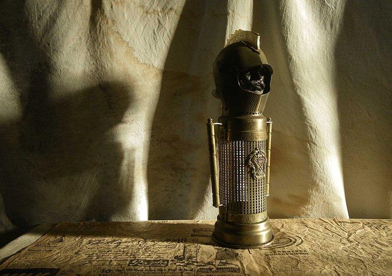 【老時光 OLD-TIME】早期武士酒瓶收納擺飾