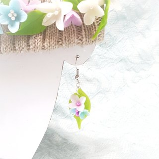 Romantic spring earrings / ear hook / ear clip