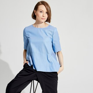 Minimalist Loose Top (Blue, Green) / (1801TP05BL-S/M), (1801TP06GN-S/M)