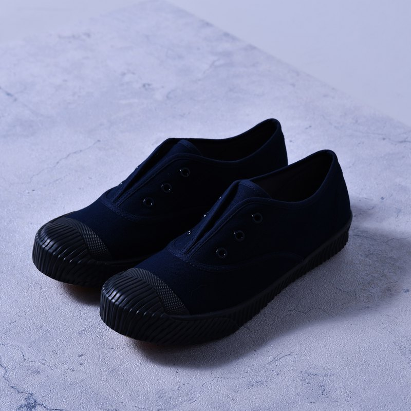 FREE+ midnight blue canvas shoes design women's shoes made in Taiwan