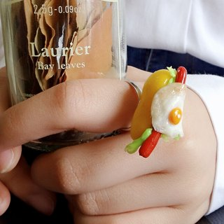 Japanese Clay C9MAN Ring Mother LOVE