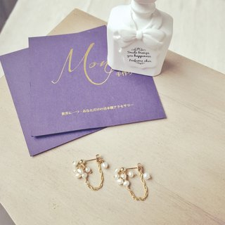 K14FG_Classic Lady Earrings