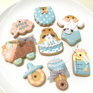 Childlike chicken baby A collection biscuits 6 +1