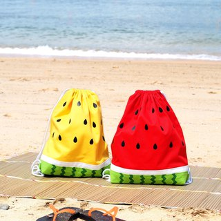 Beam mouth watermelon backpack
