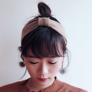 Thinning winter Elastic hairband