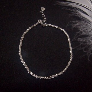 A touch of leisure | pure dazzling sterling silver bracelet