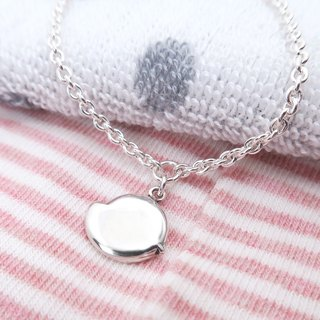 咕咕 Chick - 925 Sterling Silver Children Bracelet Parenting Silver Jewelry