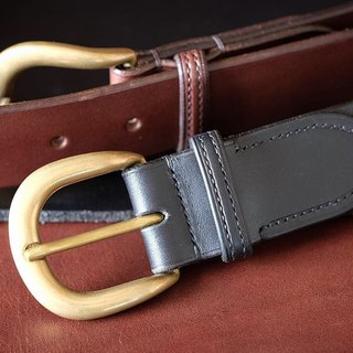 Mildy Hands - Belt - Belt - 35mm (Italian Rocky 鞣 鞣 leather)