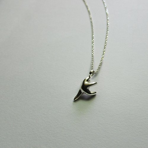 Mittag NL704 ballet starfish_ Ballet Starfish Necklace 925 sterling silver limited designer hand with brand wood jewelry box, silver polishing cloth overtake free transport