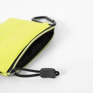Coin Purse. Black yellow ╳