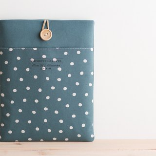 Laptop computer case Macbook cover PC case / blue dot