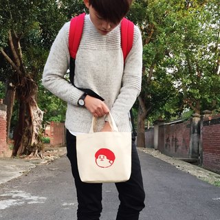 Serigraphy small bag - medium too (is red)