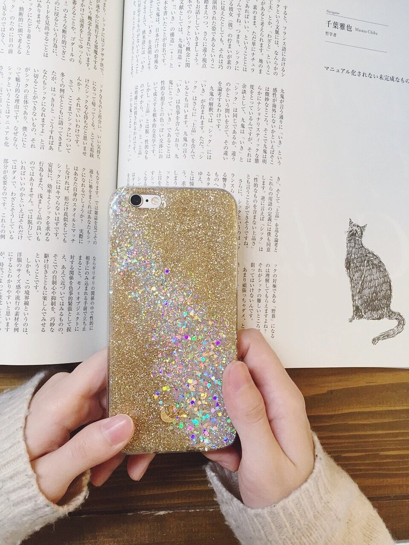 GRAMERCY - PHONE CASE / GOLD