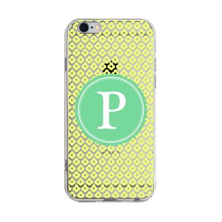 Letter P - Samsung S5 S6 S7 note4 note5 iPhone 5 5s 6 6s 6 plus 7 7 plus ASUS HTC m9 Sony LG G4 G5 v10 phone shell mobile phone sets phone shell phone case