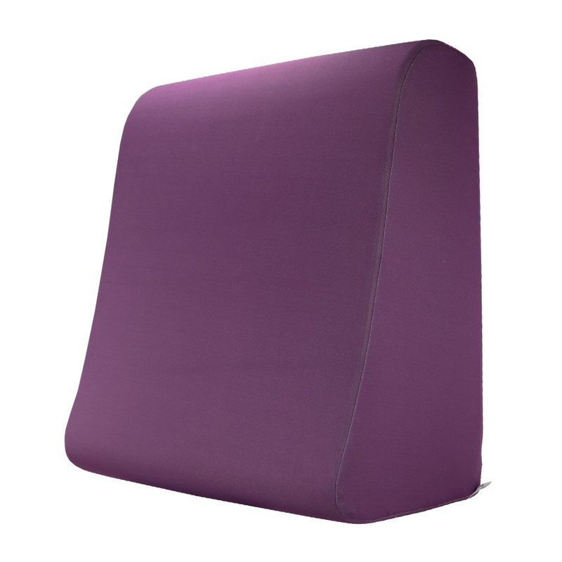 Anti-mosquito deep purple - plain lift leg pillow foot pillow (XL number) _ breathable comfort function texture gift _ elder gift