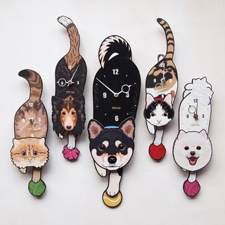 New design - Pet's pendulum clock