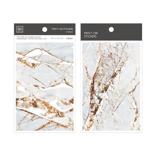 [Print-On Stickers] | Texture Series 02 - Burst Marble | Hand, DIY