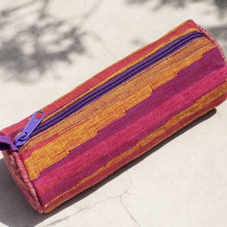 Daka woven cosmetic bag national wind bag pen tableware bag handmade canvas bag pen box - Moroccan style