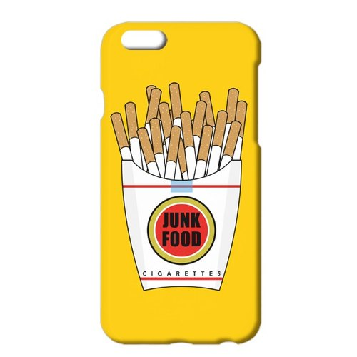 送料無料[iPhone ケース] Junk Food yellow