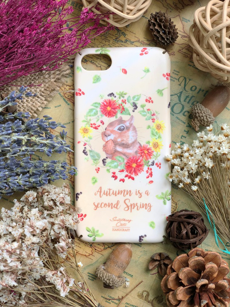 Squirrel hard phone case