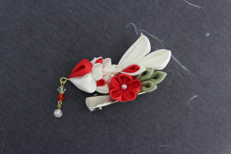 Japanese goldenfish hair clip and broach