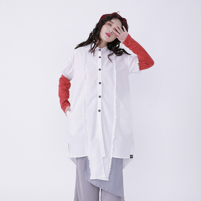 Corsage _ Momo Long Shirt Taiwan design